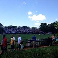 Photo taken at DeMartin Field by Sam V. on 7/14/2014