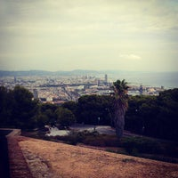 Photo taken at Parc de Bombers de Montjuïc by Irena P. on 8/29/2013