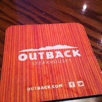 Photo taken at Outback Steakhouse by Thiago T. on 2/16/2013