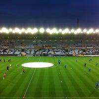 Photo taken at Club Brugge K.V. by Wesley V. on 10/28/2012