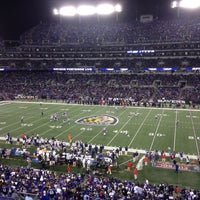 Photo taken at M&T Bank Stadium by Kevin D. on 9/24/2012