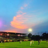 Photo taken at U-M Soccer Complex by Stanley S. on 8/31/2013