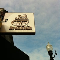 Photo taken at Ball Square Cafe by Laura on 10/27/2012