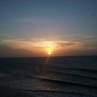 Photo taken at Praia de Jericoacoara by Nadia C. on 3/12/2013