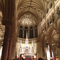 Photo taken at Saint Francis Xavier College Church by Derrick N. on 1/14/2013