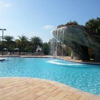 Photo taken at Hilton Grand Vacations at SeaWorld by Benjamin D. on 5/24/2013