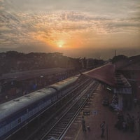 Photo taken at Margao Railway Station by Nathan G. on 5/4/2016