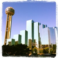 Photo taken at Reunion Tower by Christopher S. on 4/23/2012