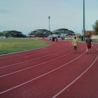 Photo taken at Unidad Deportiva by Victor M. on 7/3/2013