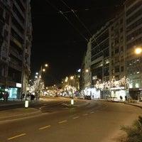 Photo taken at Terazije by oksana on 1/13/2013