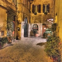 Photo taken at Rione XIII - Trastevere by Stefano on 2/22/2016