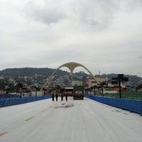 Photo taken at Praça da Apoteose by Luiz Alfredo M. on 2/5/2013