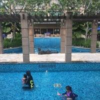Photo taken at Pool · The Westin Kuala Lumpur 吉隆坡威斯汀酒店 by Machruzar m. on 2/26/2016
