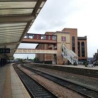 Photo taken at Harrogate Railway Station (HGT) by Irina C. on 6/22/2013