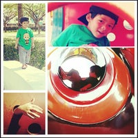 Photo taken at Children Playground by Iwan H. on 3/17/2013