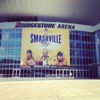 Photo taken at Bridgestone Arena by Gervasio G. on 7/12/2013