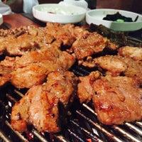 Photo taken at 포도식당 (ポド食堂) by Jae Hun L. on 8/4/2015