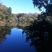 Photo taken at Lullwater Preserve by Fatima Al Slail on 10/24/2012
