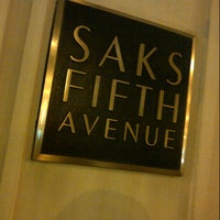 Photo taken at Saks Fifth Avenue by Fatima Al Slail on 12/25/2012