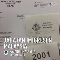 Photo taken at Immigration Dept (Jabatan Imigresen) by CikLily P. on 5/3/2013