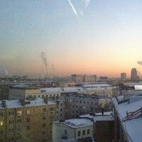 Photo taken at Стромынка 18к13 by Andrew H. on 1/31/2014