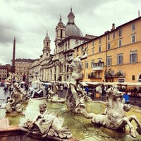 Photo taken at Piazza Navona by Антон К. on 9/15/2013