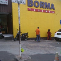 Photo taken at Borma Toserba by Danzmaar Z. on 10/20/2012