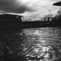 Photo taken at Abellana Swimming Pool by Eli D. on 10/9/2014