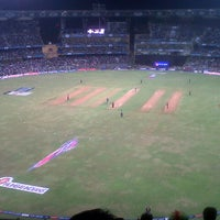 Photo taken at Wankhede Stadium by Khushboo C. on 4/9/2013