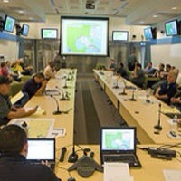 Photo taken at San Antonio OEM Media Room by BCMAC7 T. on 9/8/2014