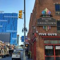 Photo taken at Greektown Historic District by MisterEastlake on 6/21/2016