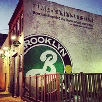 Photo taken at Brooklyn Brewery by Brian S. on 11/9/2012