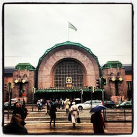 Photo taken at VR Helsinki Central railway station by Michael L. on 4/23/2013