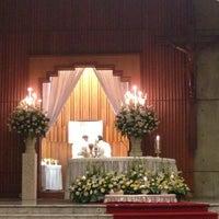 Photo taken at Gereja Katolik Santo Andreas by Angela M. on 3/30/2013