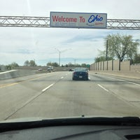 Photo taken at Michigan / Ohio State Line by Graham D. on 5/4/2013