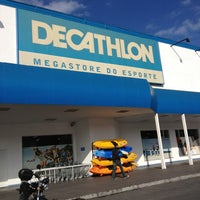 Photo taken at Decathlon by Vanessa A. on 6/4/2013