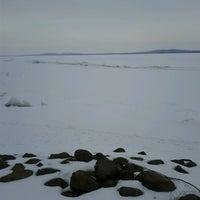 Photo taken at Lake Puckaway by Dan M. on 3/9/2013