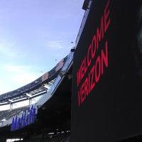 Photo taken at Verizon Corner Suite - MetLife Stadium by Taiwan B. on 11/6/2013