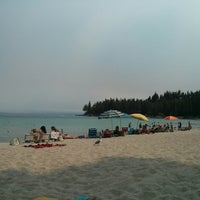 Photo taken at Meeks Bay Resort by Giles D. on 9/1/2013