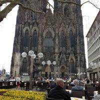 Photo taken at Café Reichard by DrSchlaumixer on 4/15/2013
