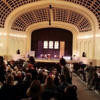 Photo taken at Macky Auditorium by Eric I. on 5/11/2013