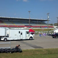 Photo taken at Nashville Fairgrounds Speedway by Mike N. on 10/4/2012