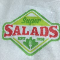 Photo taken at Super Salads by Edith P. on 7/28/2013