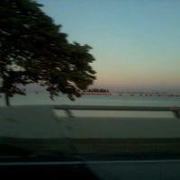 Photo taken at Caloosahatchee Bridge by Ryan M. on 1/26/2013