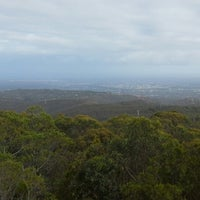 Photo taken at Mt Lofty Summit by Ambler T. on 3/19/2015
