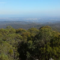 Photo taken at Mt Lofty Summit by Ambler T. on 4/10/2015