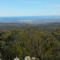 Photo taken at Mt Lofty Summit by Ambler T. on 9/10/2015