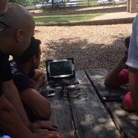 Photo taken at Volunteer's Park by Elysa on 6/29/2014