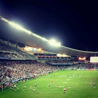 Photo taken at Allianz Stadium by Mirna S. on 4/12/2013