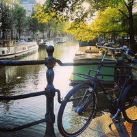 Photo taken at Amsterdam by Ligia T. on 10/1/2013